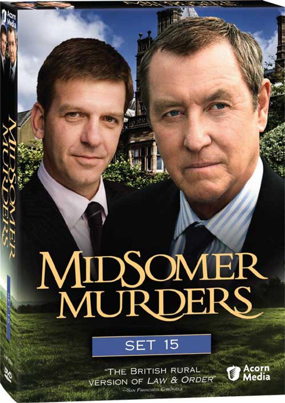 Midsomer Murders Set 15 On DVD!
