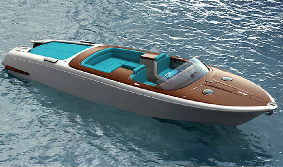 Marc Newson's Aquariva Speed Boat is Perfect for Glamourous Getaway Chases