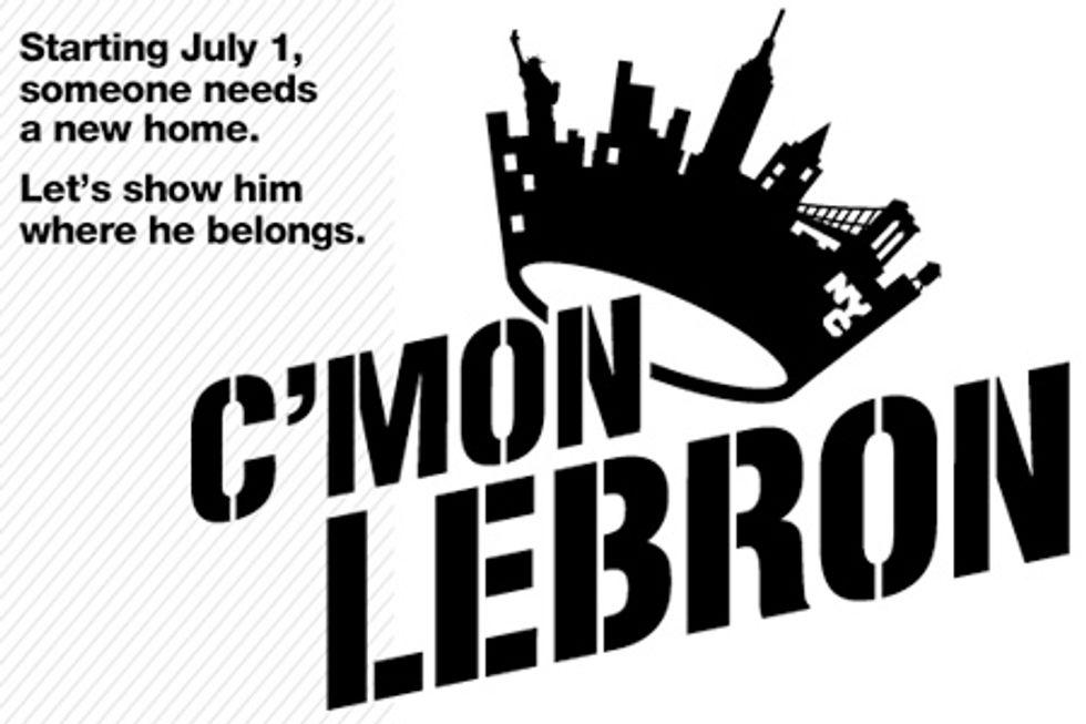 C'Mon LeBron, Move to New York!