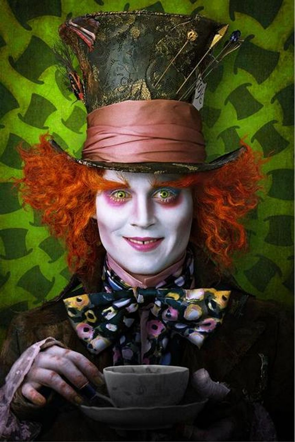 Tim Burton's Alice In Wonderland On DVD: Feed Your Head