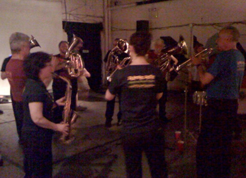 Downtown Community Television Center Gets Brassy