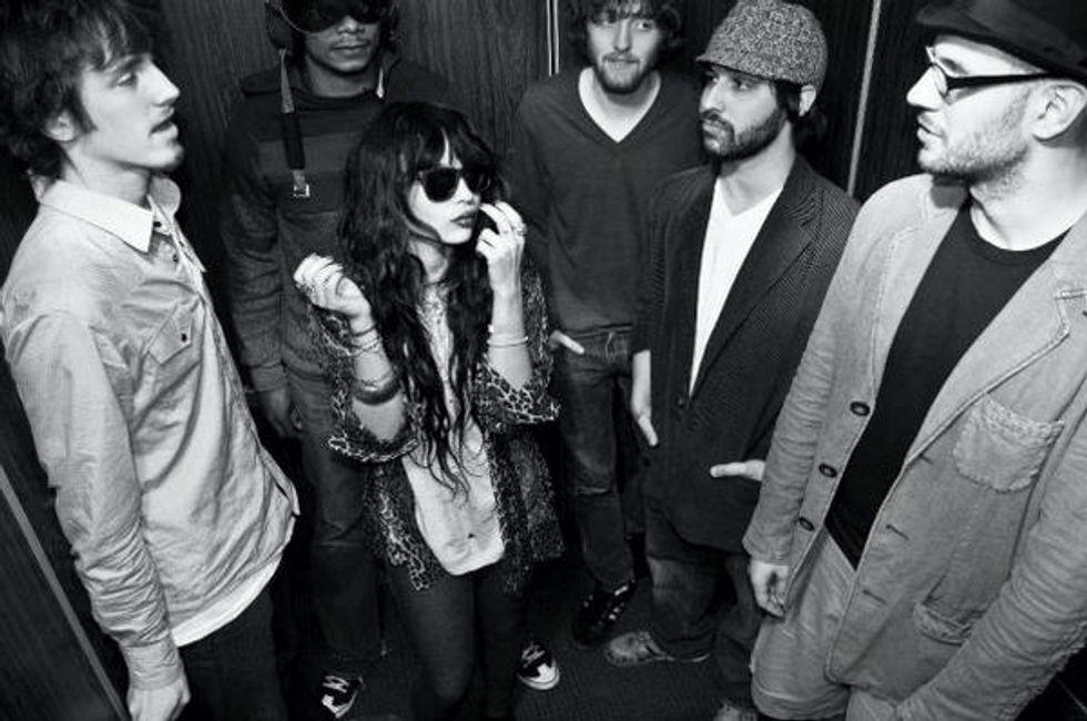 Zoe Kravitz's Band Elevator Fight Plays Delancey Lounge.