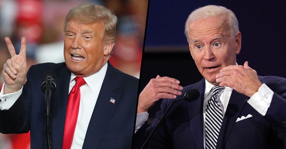 Donald Trump Claims Joe Biden Has 'Dementia' That's 'Getting Worse' in Brutal Tweet