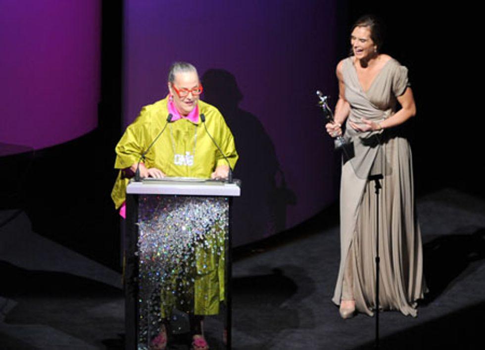 Kim Hastreiter's CFDA Award Acceptance Speech