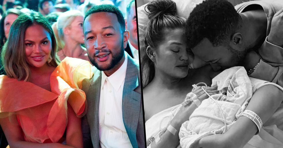 John Legend Wrote Chrissy Teigen a Heartfelt Message Following the Loss of Their Baby