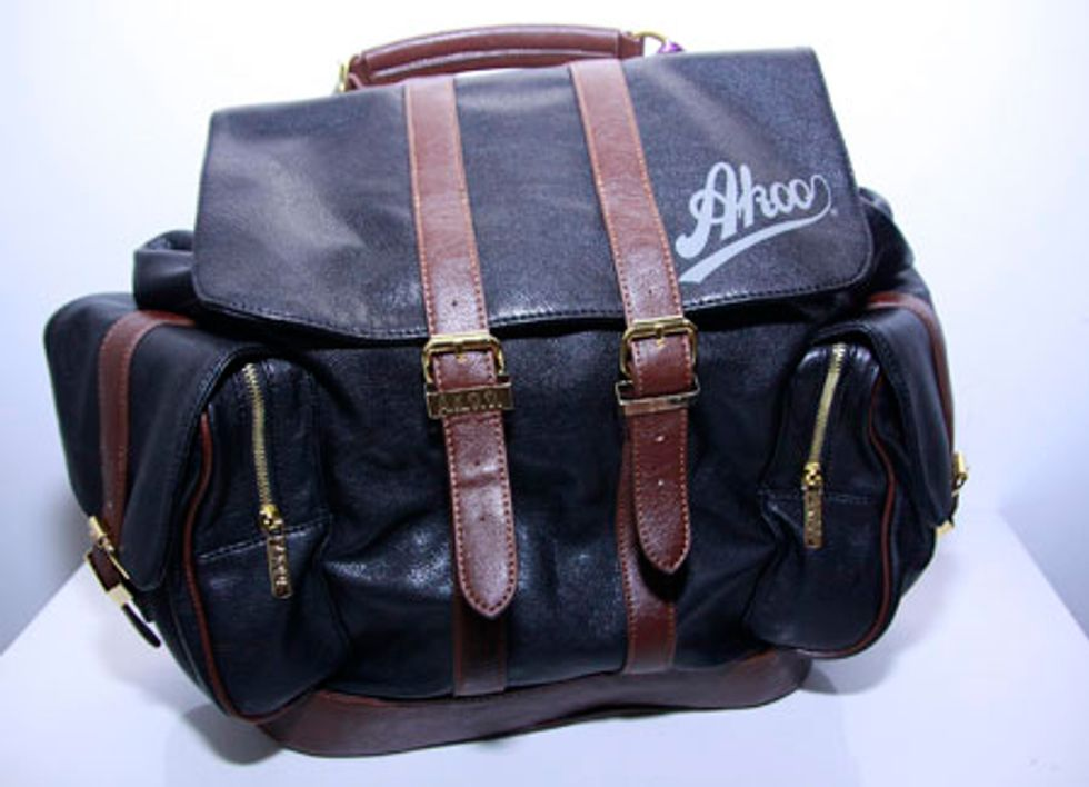 T.I. Helps You Pack: The Leather Weekender by Akoo