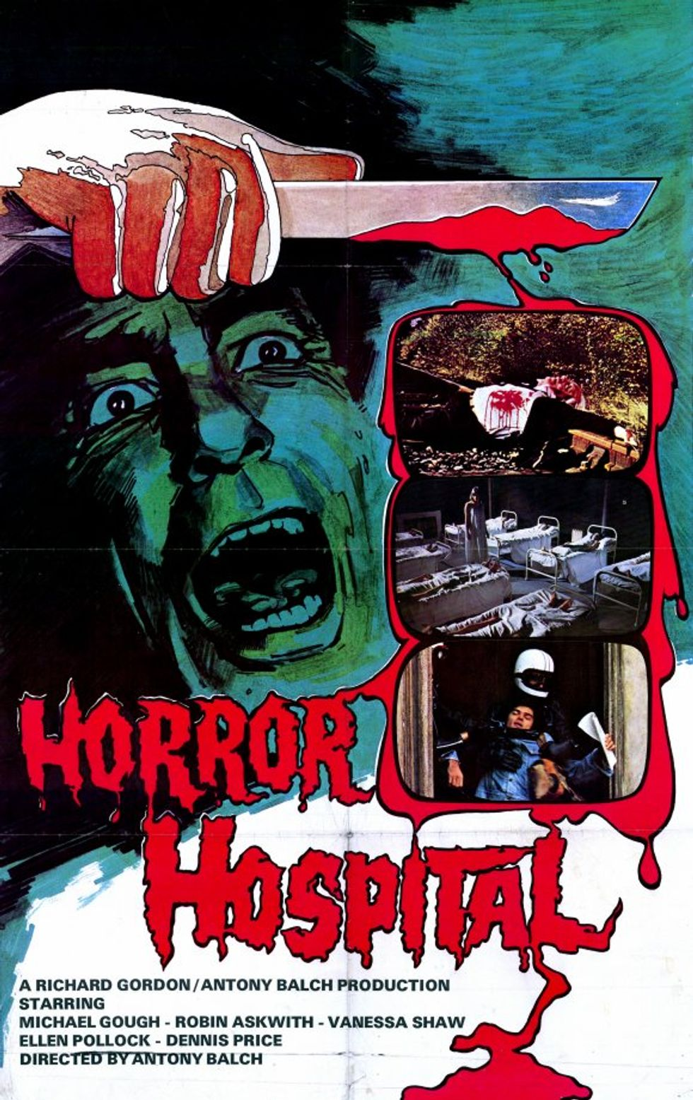 Horror Hospital On DVD!