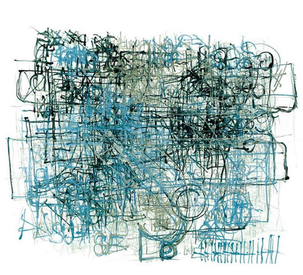 Astounding Drawings by Dan Miller at Ricco Maresca Gallery