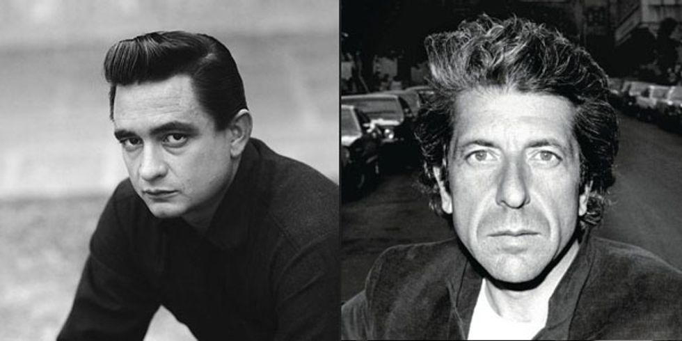 Johnny Cash, Leonard Cohen and Danzig in Today's Eight Items or Less