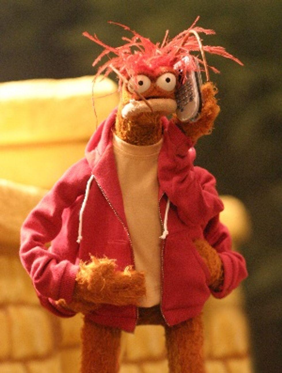 Just Cuz: Pepe the King Prawn Muppet