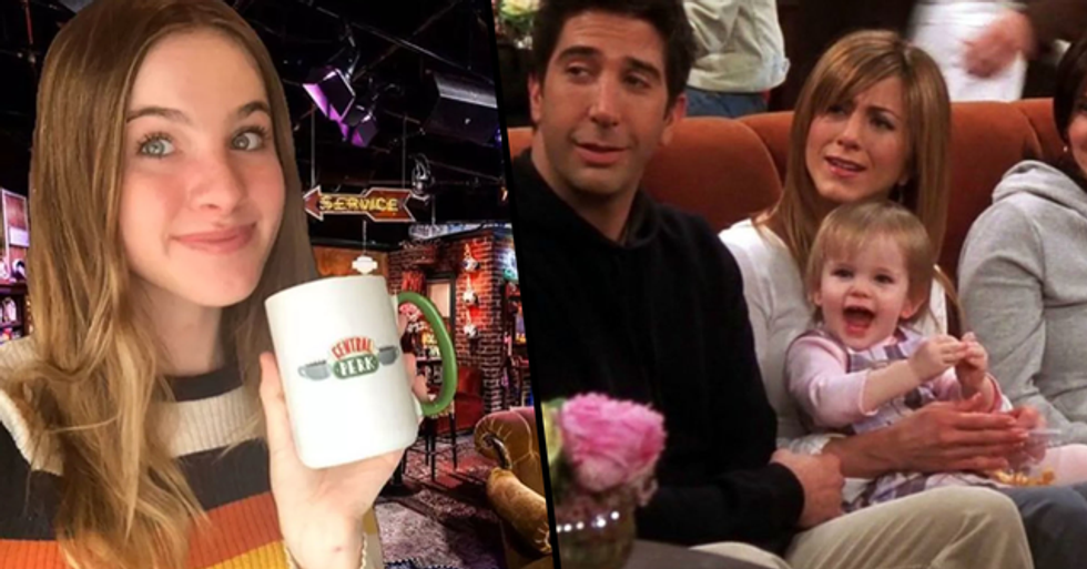 Baby Emma Actor Confirms She's Finally Woken up From Nap to Watch Chandler's 2020 Message