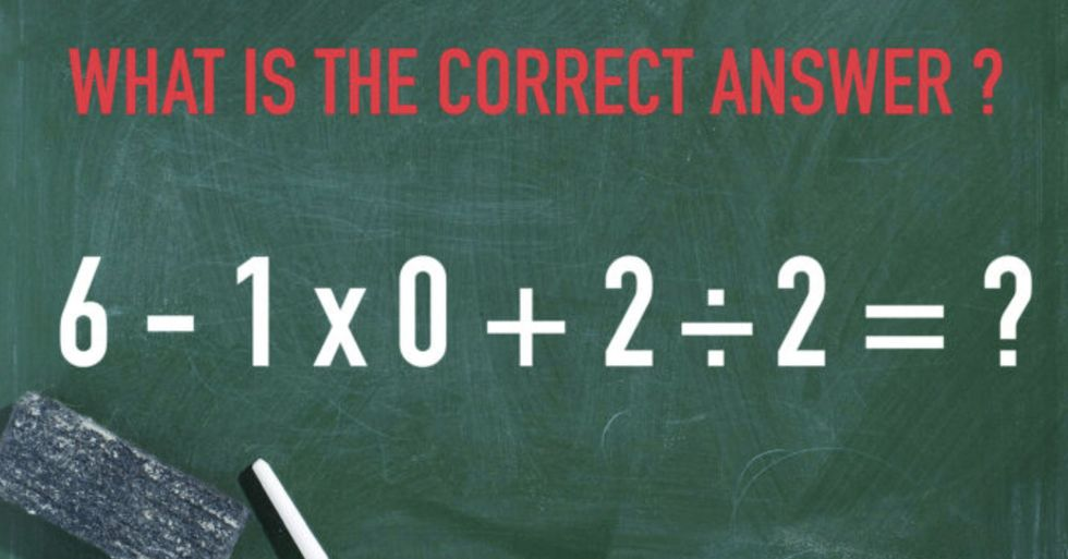 People Are Losing Their Minds Trying to Solve This Math Problem