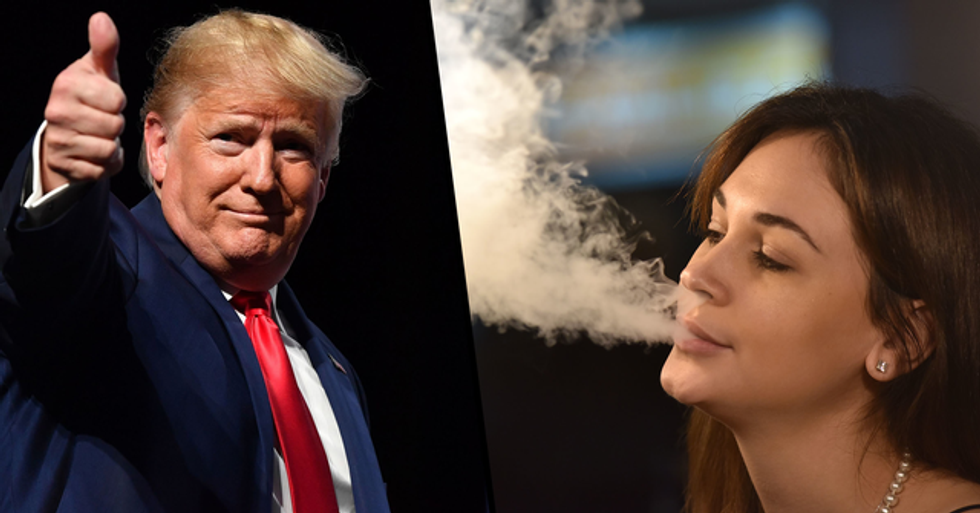 The Trump Administration Has Banned Almost All Flavored Vape Pods