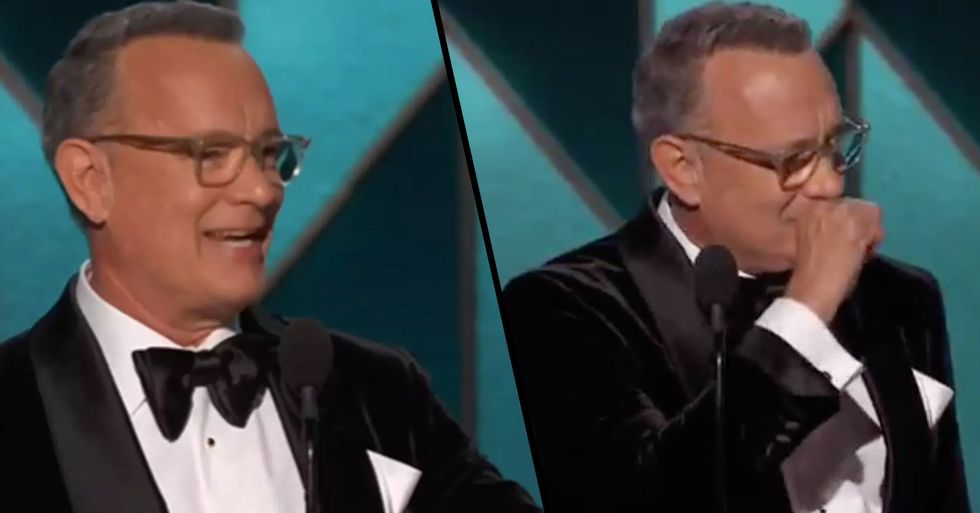 Tom Hanks Has Received The Lifetime Achievement Award At Golden Globes