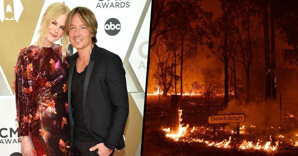 Nicole Kidman and Keith Urban Donate $500,000 to Australia Bushfire Fund