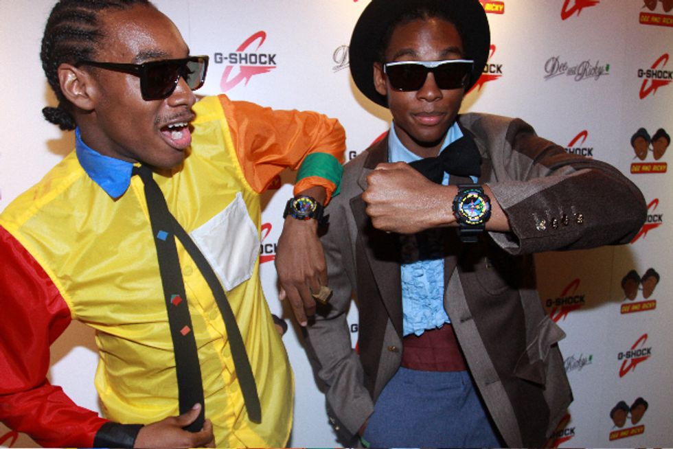 Dee & Ricky for G-Shock