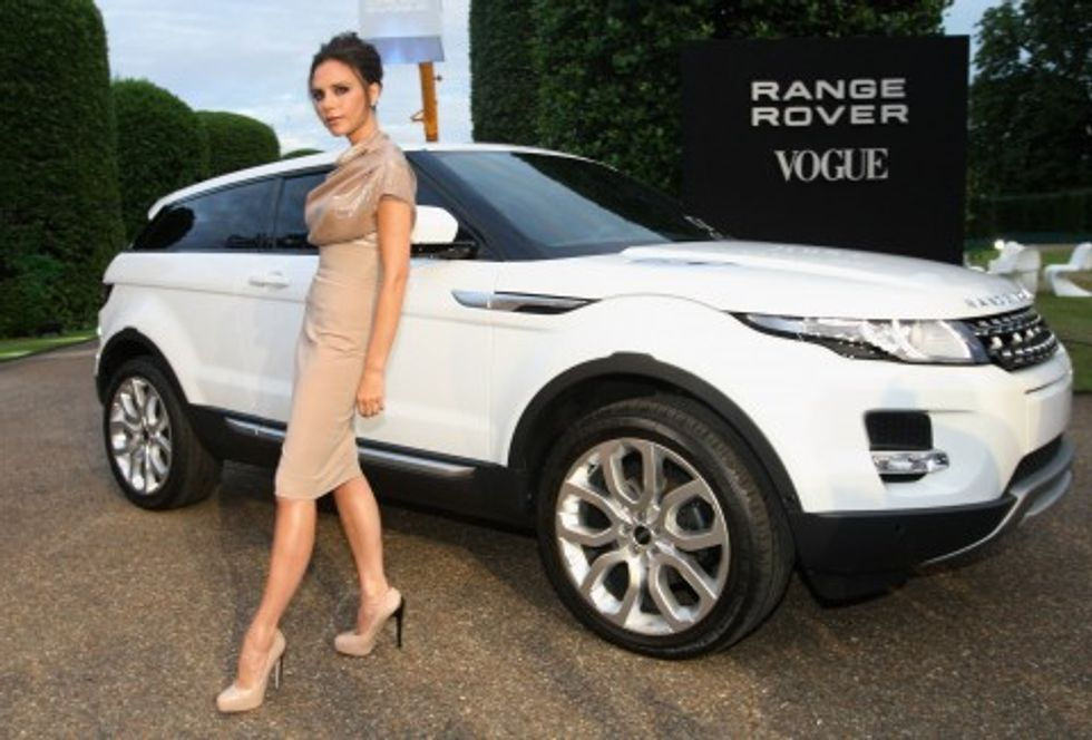Victoria Beckham Takes to the Road for Land Rover