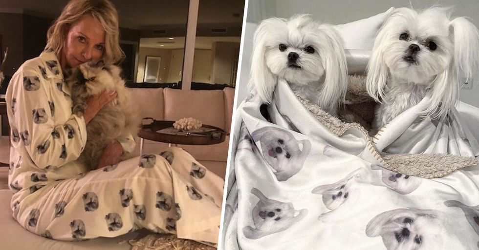 You Can Now Get Pajamas Printed With Your Pet's Face