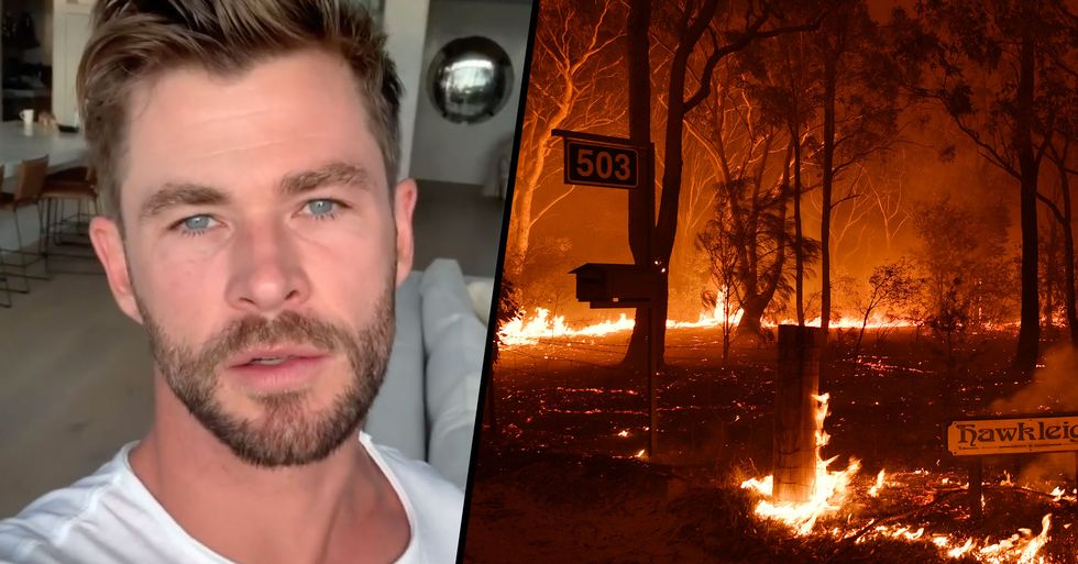 Chris Hemsworth Donates $1 Million to Australian Fire Relief