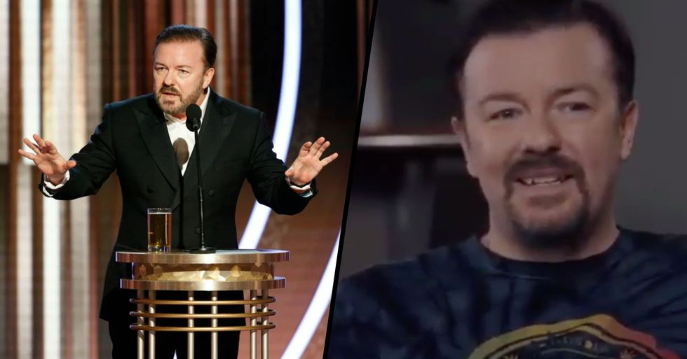 Ricky Gervais Responds to Huge Backlash From Golden Globes Monologue