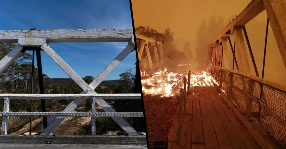 Shocking Before and After Photos Reveal Devastating Damage Caused by Australia's Bushfires