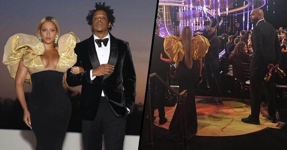 Beyonce Made Her Body Guards Carry Her Own Bottles of Alcohol to the Golden Globes