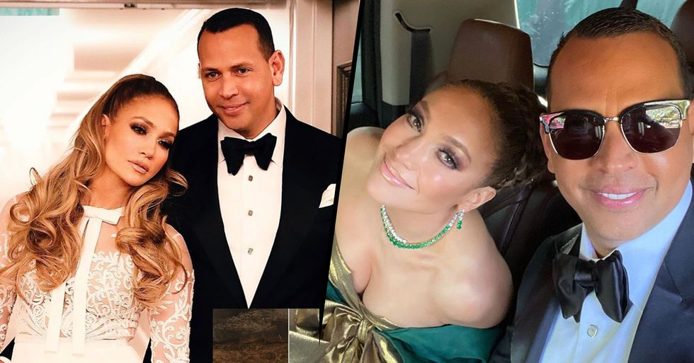 Alex Rodriguez Wrote a Very Sweet Note to Jennifer Lopez After She Lost a Golden Globe