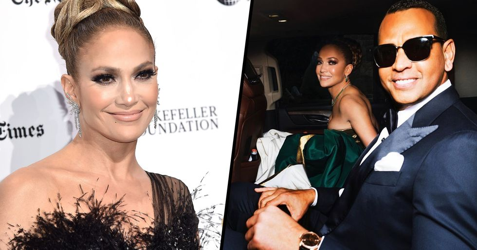 J-Lo's 'Horrific' Golden Globes Dress Mocked Online