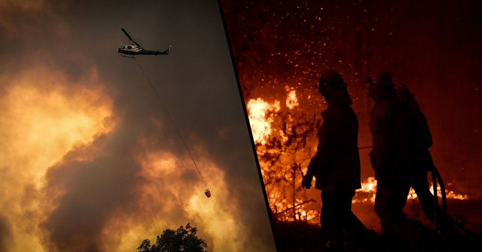 More Than 180 People Arrested for Deliberately Lighting Bushfires in Australia