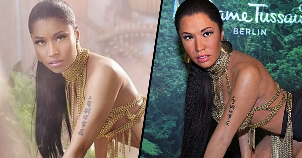 Madame Tussauds' New Nicki Minaj Wax Figure Is Baffling People