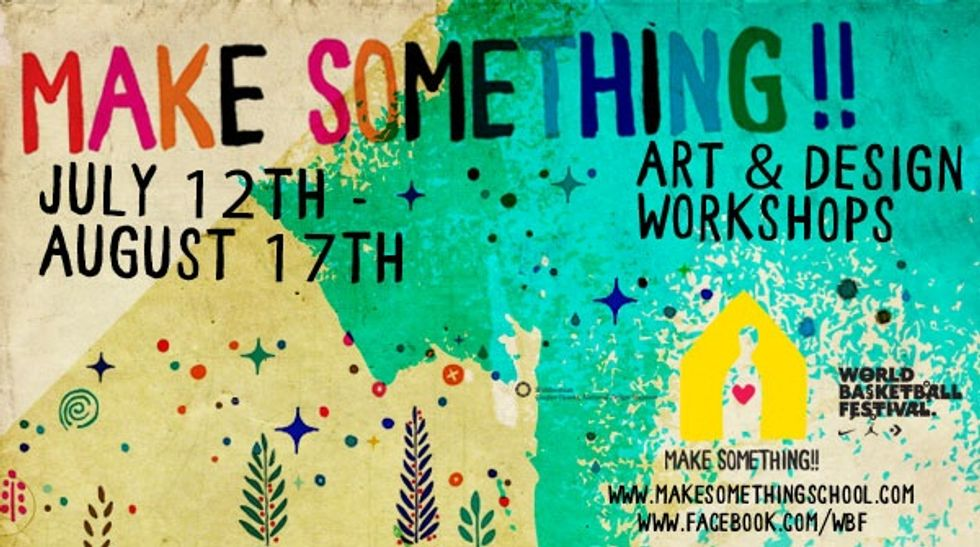 Aaron Rose's Make Something Workshops Start Monday