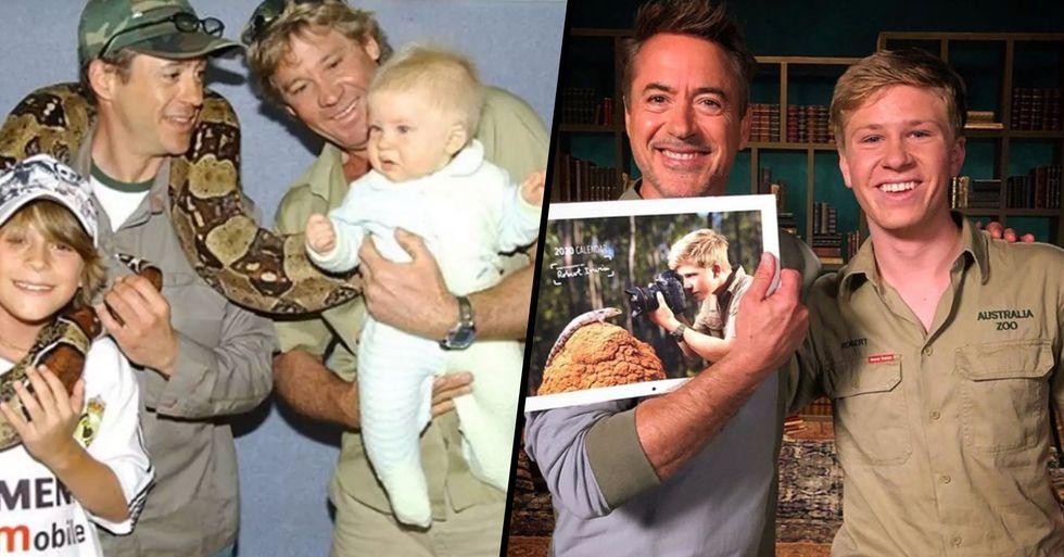 Robert Irwin Reunites With Robert Downey Jr 16 Years After Their First Meeting