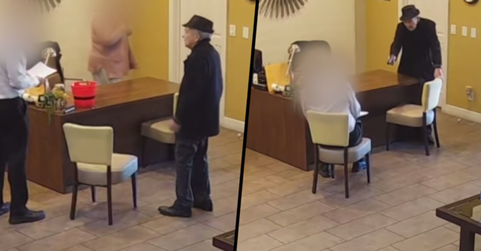 93-Year-Old Man Calmly Shoots Apartment Manager Twice Over Water Damage