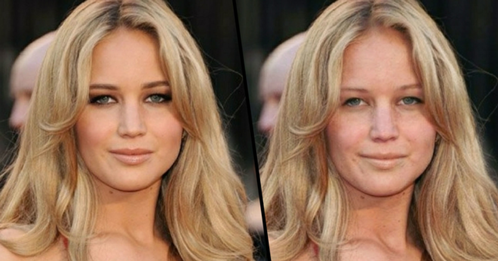 People Have Been Using An App To Remove Makeup From Celebrities