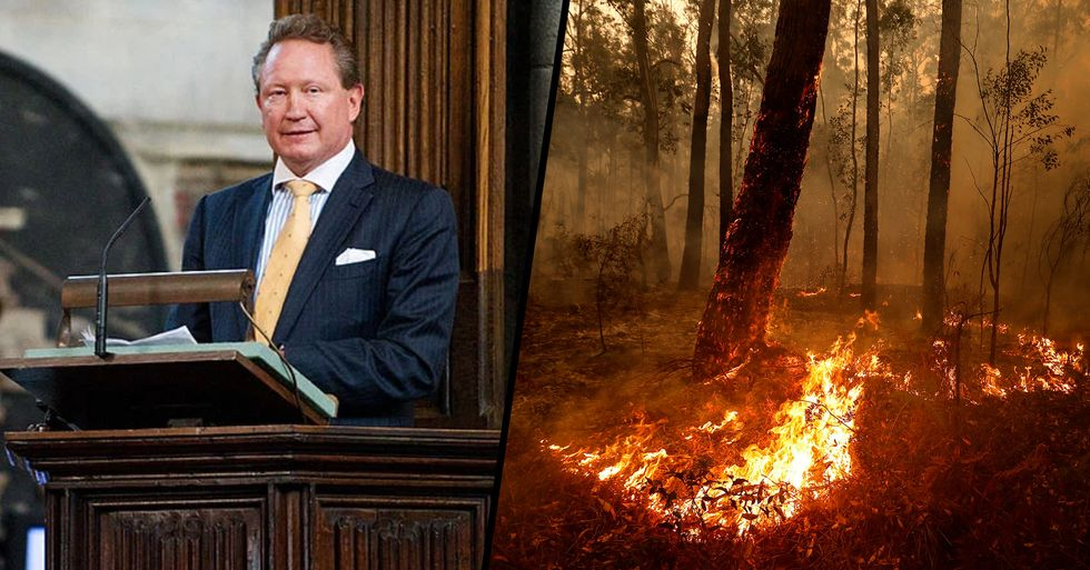 Australian Businessman Makes $70 Million Bushfire Donation