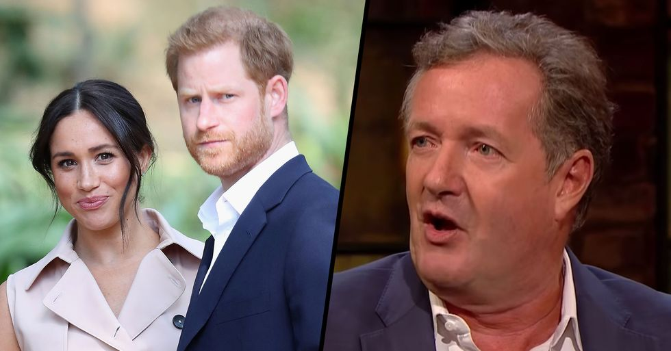 Piers Morgan Slams Meghan Markle 'for Ditching Her Family, Her Dad, and Splitting Harry From the Royal Family'