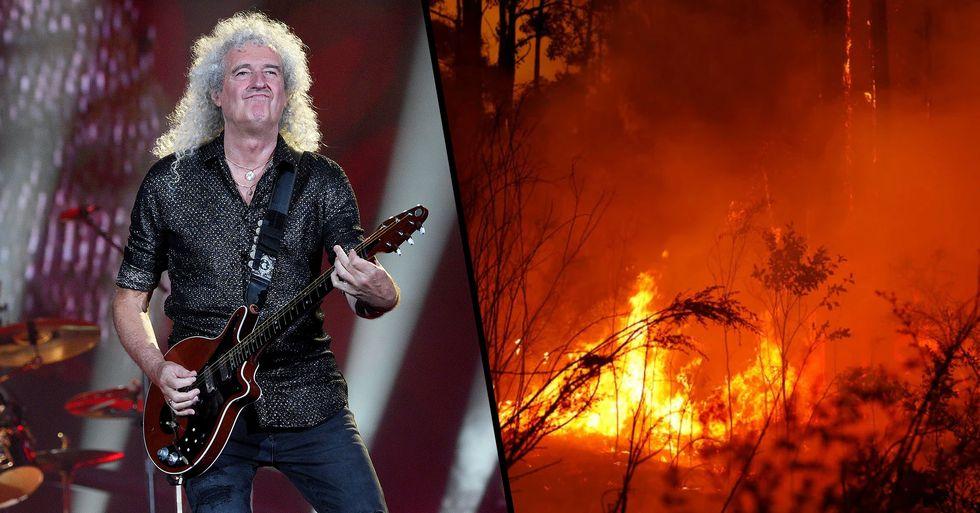 Queen Have Been Asked to Perform Live-Aid Style Benefit Concert for Bushfire Crisis