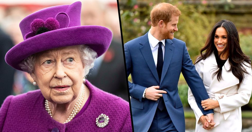 The Queen Responds to News That Harry and Meghan Will 'Step Back' From the Royal Family