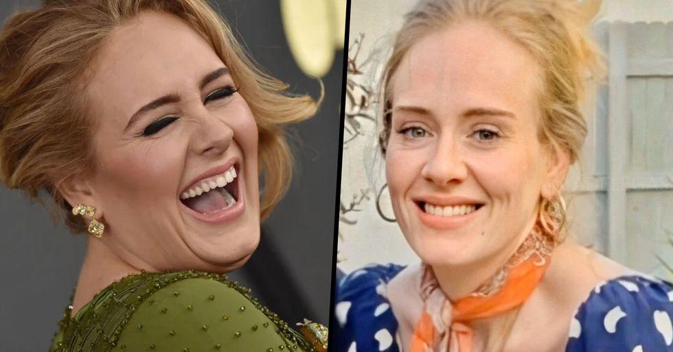 Adele Tells Fan She's Lost Seven Stone in Incredible Transformation