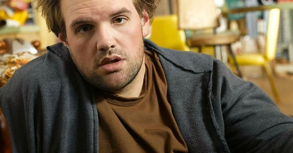 Actor Ethan Suplee Is Ripped After Hitting the Gym