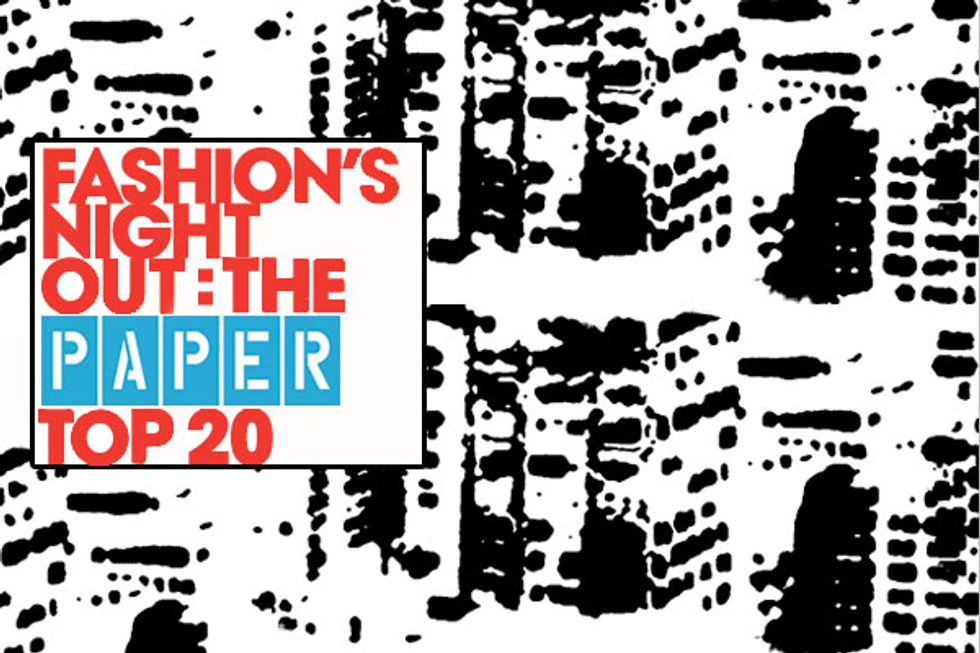 Fashion's Night Out: PAPERMAG'S Top 20 Picks
