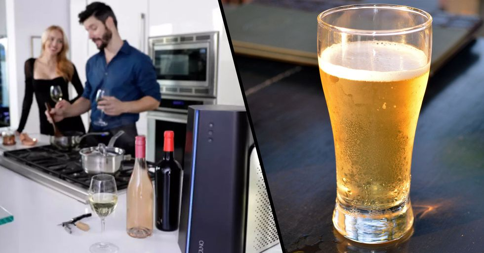 'Reverse Microwave' Can Chill Beer in Just One Minute