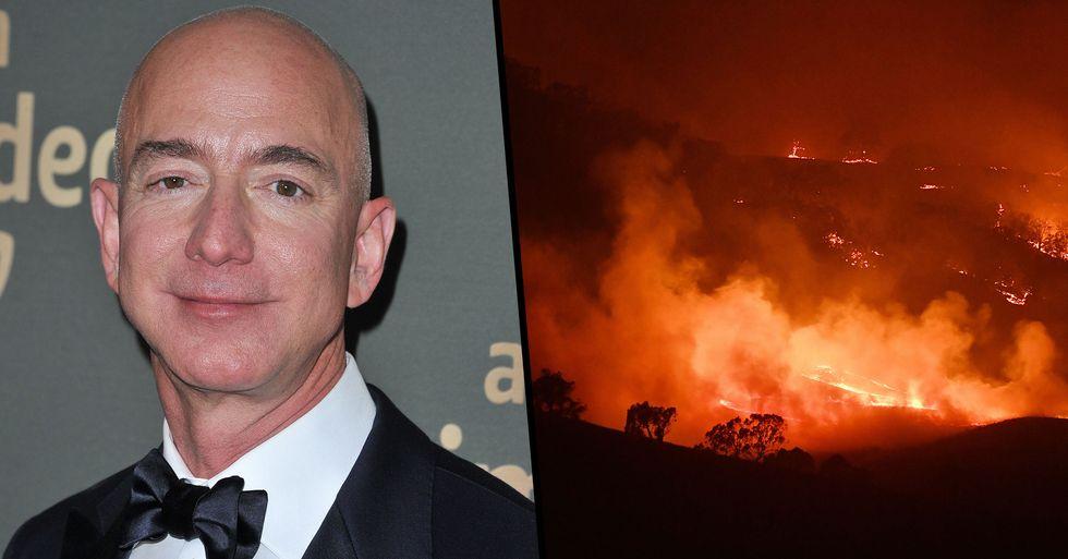 Jeff Bezos Slammed for 'Tiny' $690,000 Donation to Australia Fire Relief