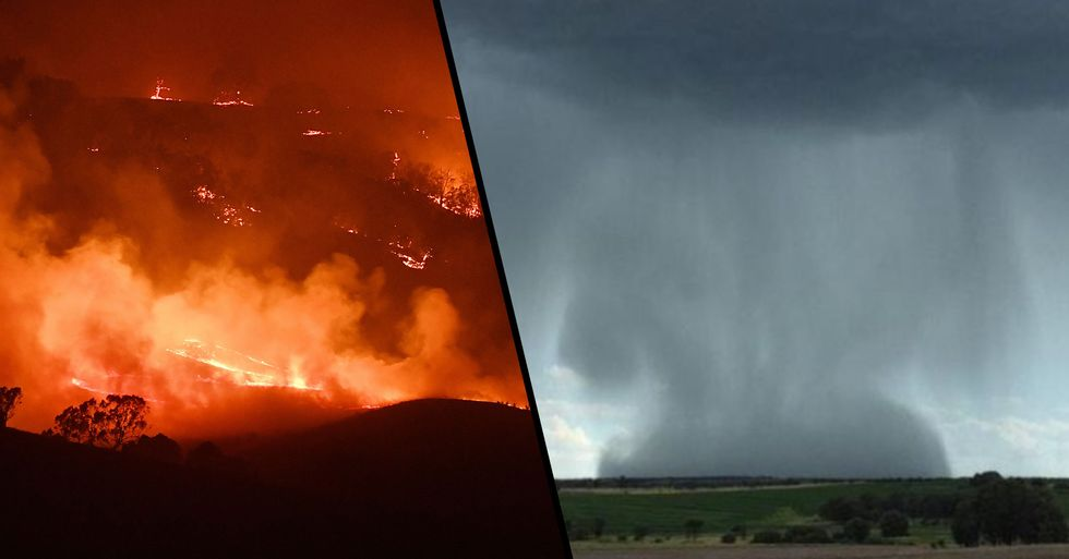 Huge Five Day Rainstorm Is About to Strike Australia Giving Hope to Exhausted Firefighters