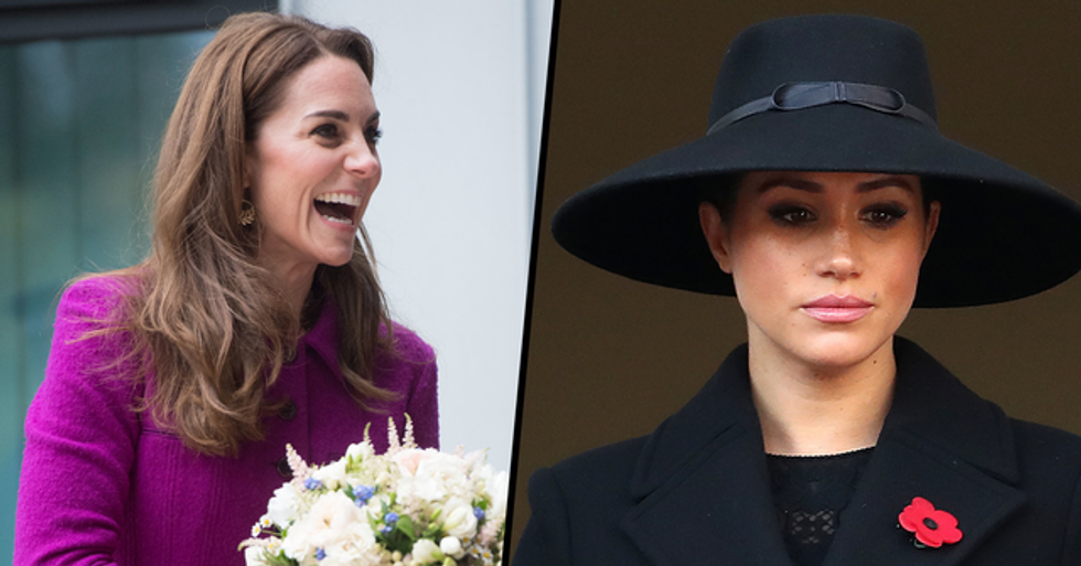 People Are Comparing British Headlines About Meghan Markle and Kate Middleton and Twitter Is Mad
