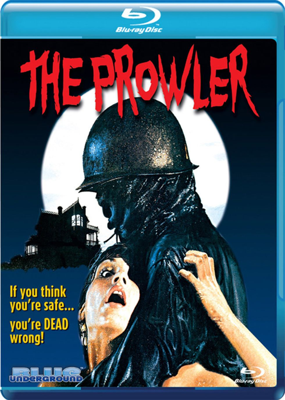 The Prowler On Blu-ray!