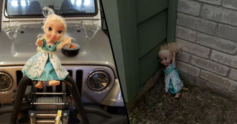 'Haunted' Elsa Doll Won't Let Go of Family and Keeps Returning After Being Thrown Out