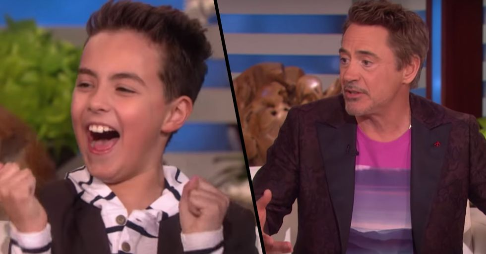 Robert Downey Jr. Surprises Boy Whose Life Was Changed Forever by Iron Man
