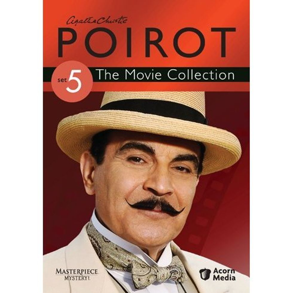 Poirot: The Movie Collection Set 5 On DVD!
