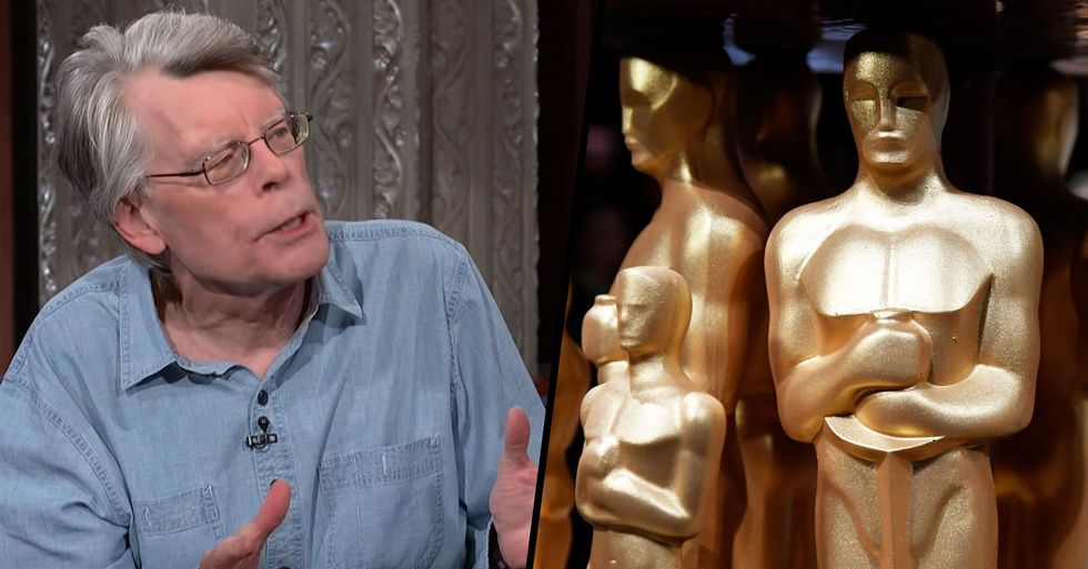 Author Stephen King Slammed for 'Painful' and 'Backward' Comments on Diversity at the Oscars